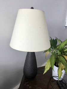 Dimpled Lamp (blackish)