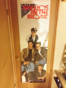 Vintage New Kids On The Block Posters NKOTB 80s SEALED