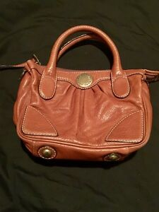 Authentic brown leather Marc by Marc Jacobs Purse
