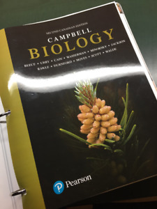 Campbell Biology Second Canadian Ed. Textbook: UPEI BIO1310/1320