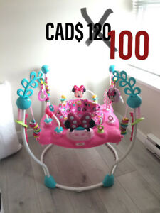 Minnie mouse jumperoo NEW