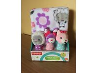 *REDUCED* Fisher Price Cuddle 'n' play pals- blanket and toy set