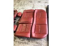 Vauxhall Astra coupe turbo red leather interior plus other parts