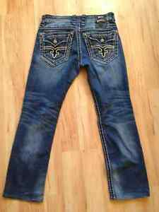 Rock revival jeans 32 Matthew *likeNew* Prince George British Columbia image 1