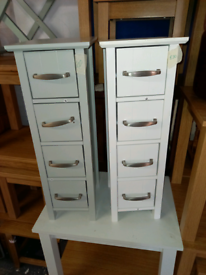 Storage draws. Grey or White. £20 each. Rbw Clearance Outlet Leicester
