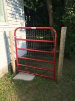 Behlen country red gate 4'