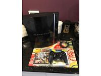 PlayStation 3 with 3 games one controller