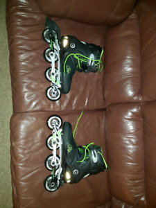 Size 11  K2 rollerblades almost perfect condition