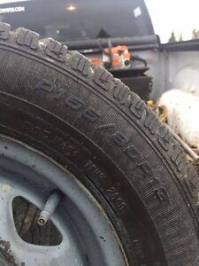 GOODYEAR ULTRAGRIP...... 13 inch snow tires Prince George British Columbia image 3