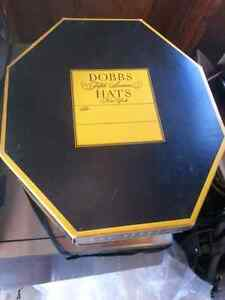 Vintage Original Dobbs Fifth Ave NY Hexagonal Mens Hat and Box  London Ontario image 4