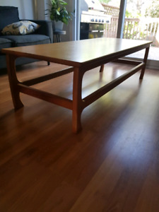 REAL WOOD coffee table for sale