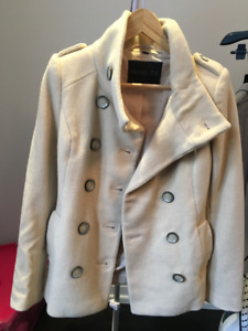 Rachel Zoe Off White Coat