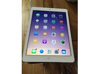 iPad Air white and silver 16 gb