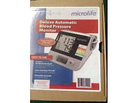 New micro life deluxe blood pressure machine