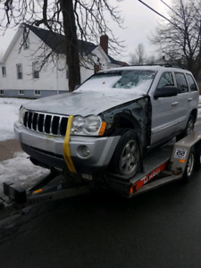 Parting out 2005 Jeep Grand Cherokee Limited