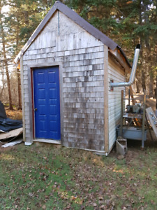 Cabin or shed need gone!