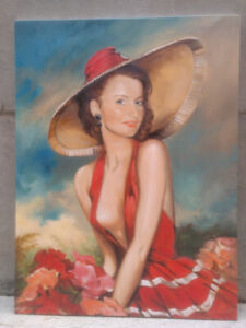 Oil paintings and drawings for sale or commission