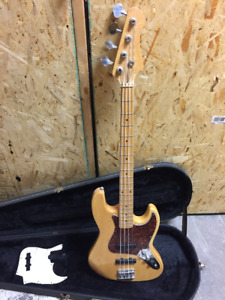 Bass fender jazz (réplique)