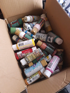 2 boxes of Acrylic Paints