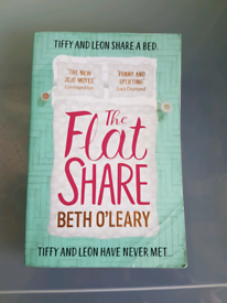 The Flatshare by Beth O'learly paperback book