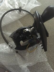 Bmw x5 shifter assembly automatic with leather knob