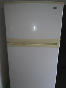 """Maytag fridge,32 1/2"""" wide and 65 3/4 """" height in working condit"""