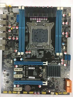 New Intel X79 Motherboard LGA 2011 ATX DDR3 or ECC / REG USB 3.0 Turbo Boost