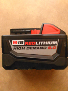 WANTED MILWAUKEE 9AMP HOUR BATTERYS