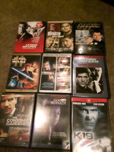 DVDs all EUC