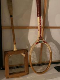 Vintage rackets