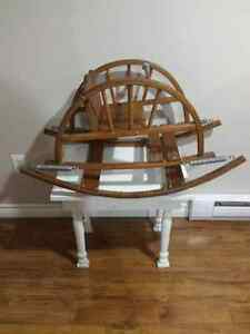 Working - Wooden Rocking/Bouncing Chair