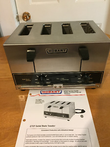 H O B A R T  ET 27 Commerical Solid State control  toaster