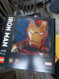 IRON MAN LEGO BRAND NEW
