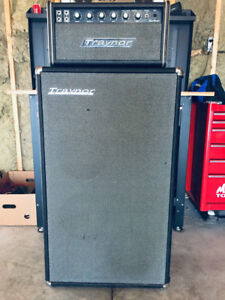 """Sell/Trade, Vintage Traynor """"All Tube"""" Head with Traynor Cabinet"""