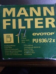 Mann fuel filter PU 9362x for VW TDI