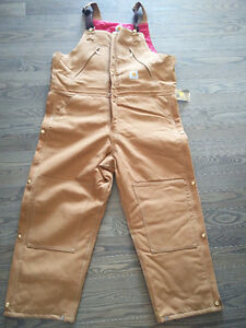 42×28 men's insulated Carhartt coveralls. New, never worn.