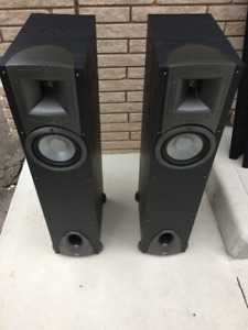 KLIPSCH SYNERGY TOWER SPEAKERS F1'S