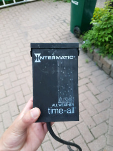 3x Outdoor timer boxes