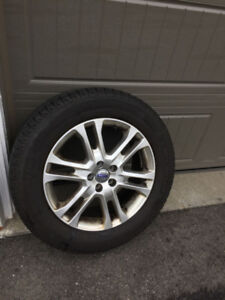 Volvo XC60 Michelin Snow Tires with Rims available for sale