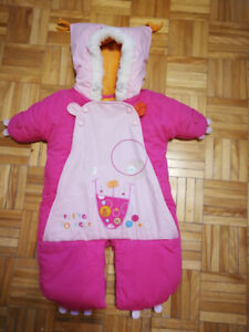 Snowsuit for baby 0-6mo