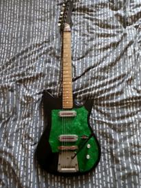 Futurama electric guitar, 1970s Soviet/ Czech made.