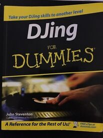 DJing for Dummies book (cost £15.99)