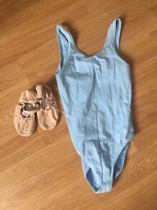 Like New Ballet body Suit with slippers