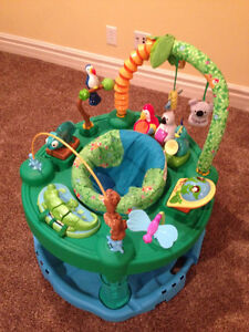 Fisher Price green jungle exersaucer