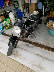 2001 Buell Blast 500cc as is