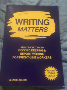 Textbook for Sale: CYC- Writing Matters