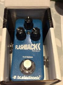 TC Electronic Flashback Mini Delay effects pedal