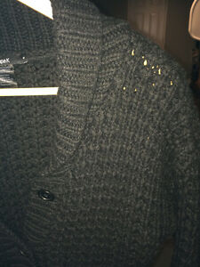 FilippaK 3/4 sleeve wool sweater. Black. West Island Greater Montréal image 3