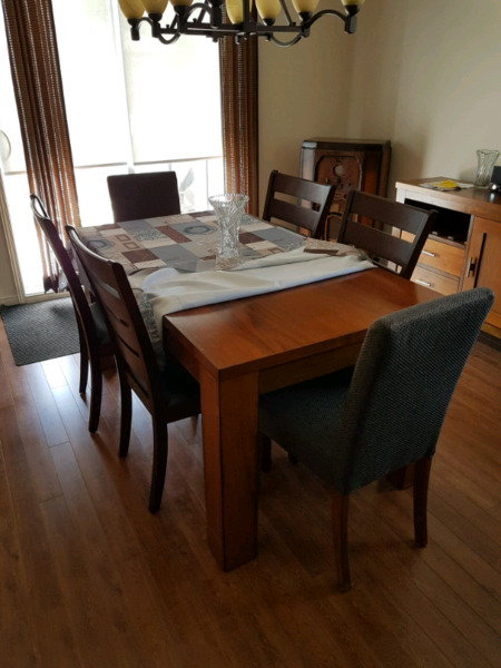 Solid wood dinning room table | Dining Tables & Sets ...