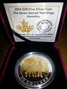 Seven Sacred Teachings - Humility Coin - 2014